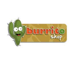 #86 para Logo Design for burrito shop de outlinedesign