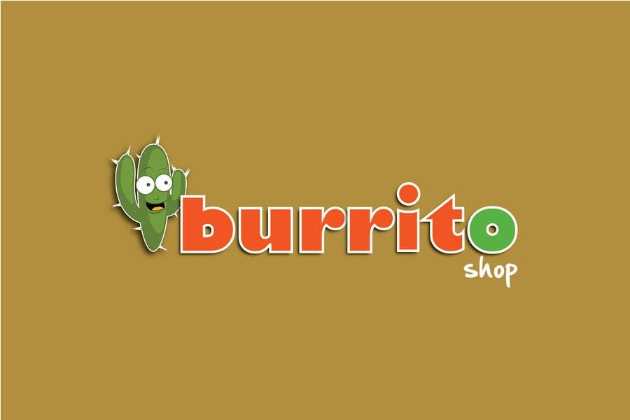 Proposition n°                                        87                                      du concours                                         Logo Design for burrito shop