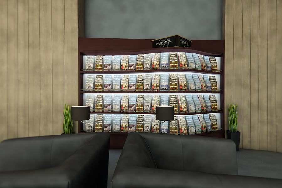 Contest Entry #23 for CGI Interior Design First Class Airline Lounge