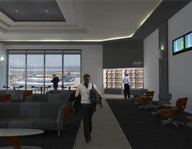 #21 for CGI Interior Design First Class Airline Lounge by techum