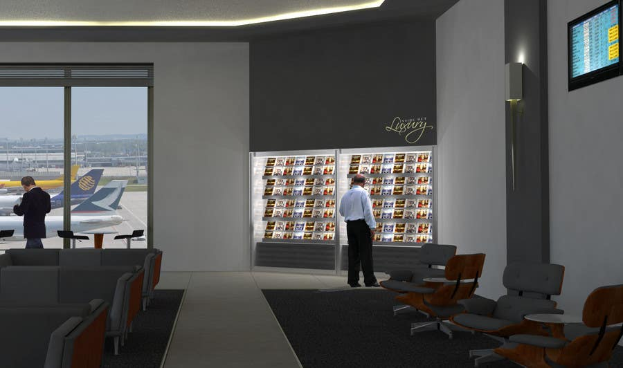 Contest Entry #                                        22                                      for                                         CGI Interior Design First Class Airline Lounge