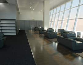 nº 6 pour CGI Interior Design First Class Airline Lounge par marcoartdesign