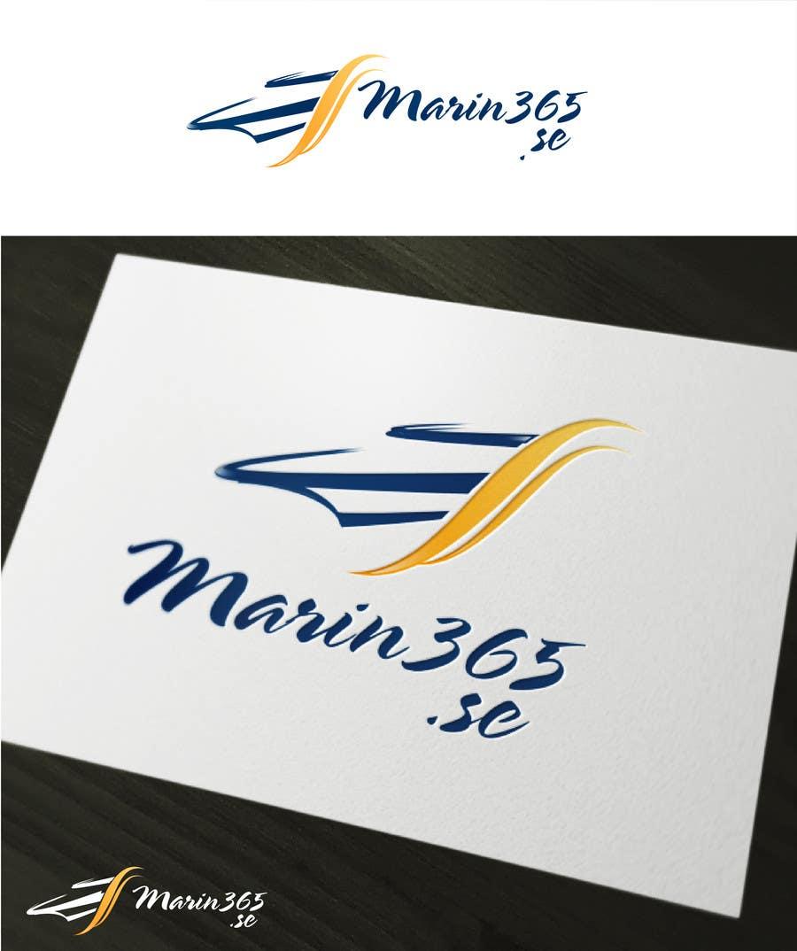Logo design Marin365.se için 12 numaralı Yarışma Girdisi