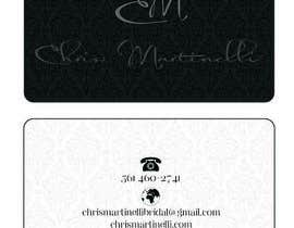 #4 untuk Design Spot UV Business Card for Fashion Designer oleh chrisalfeus
