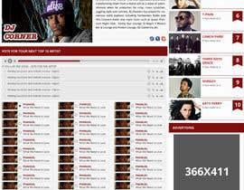 Nro 69 kilpailuun Design a Website Mockup käyttäjältä bellalbellal25