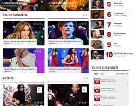 Nro 83 kilpailuun Design a Website Mockup käyttäjältä webmastersud