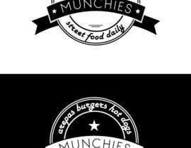 #29 untuk Munchies Restaurant Logo oleh BatJazzStudio