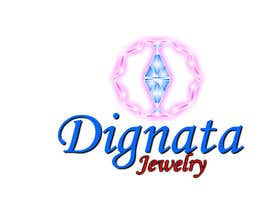 #76 para Design a Logo for Dignata Jewelry por manuelc65