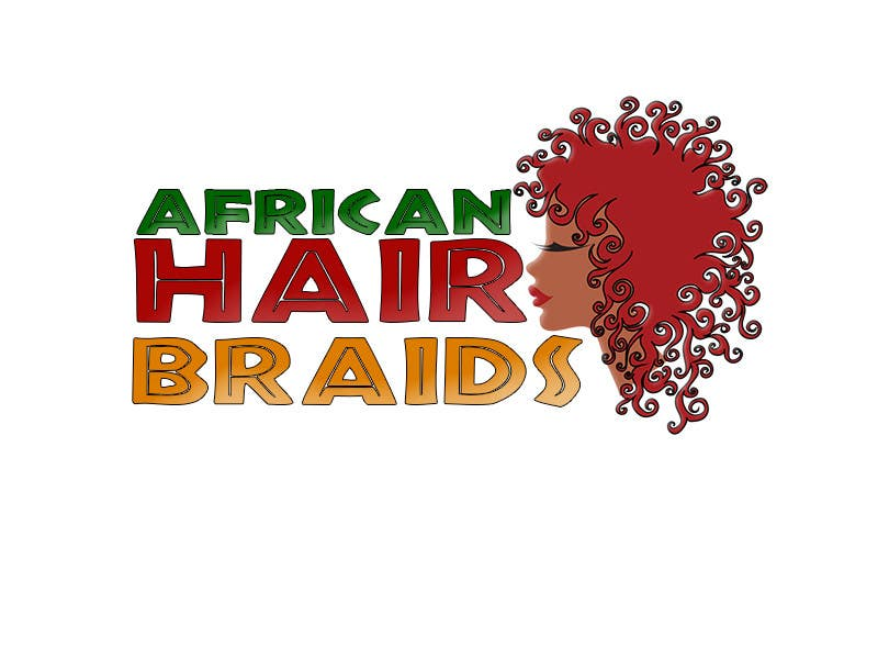 #17 for Design a Small Logo for www.AfricanHairBraids.com.au by noeloteam