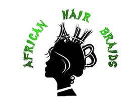 #29 for Design a Small Logo for www.AfricanHairBraids.com.au af ashy123