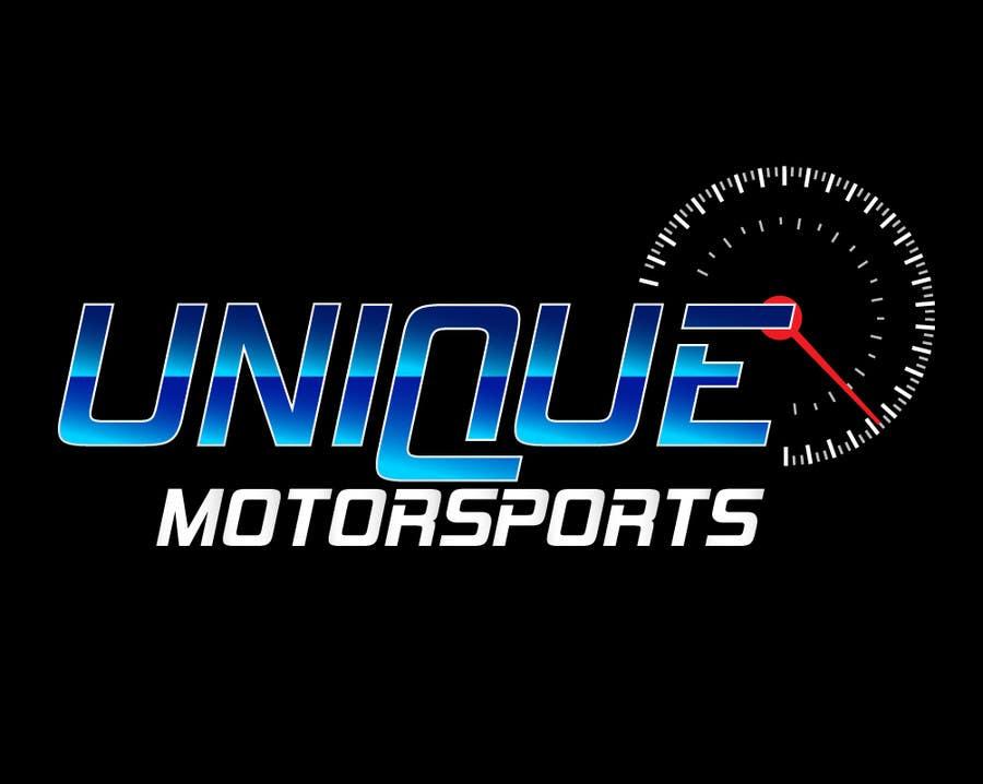 Penyertaan Peraduan #102 untuk Design a Logo for Unique Motorsports