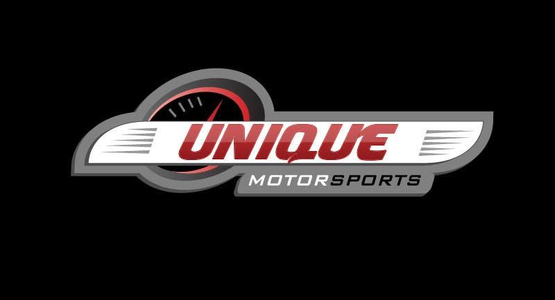 Penyertaan Peraduan #20 untuk Design a Logo for Unique Motorsports