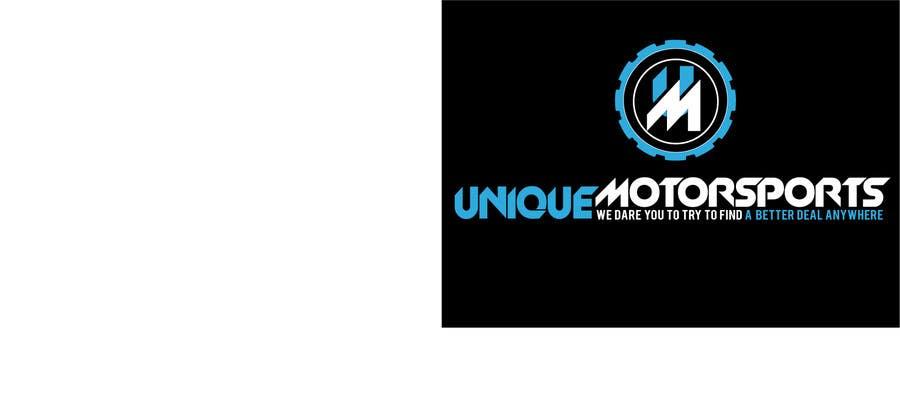 Penyertaan Peraduan #77 untuk Design a Logo for Unique Motorsports