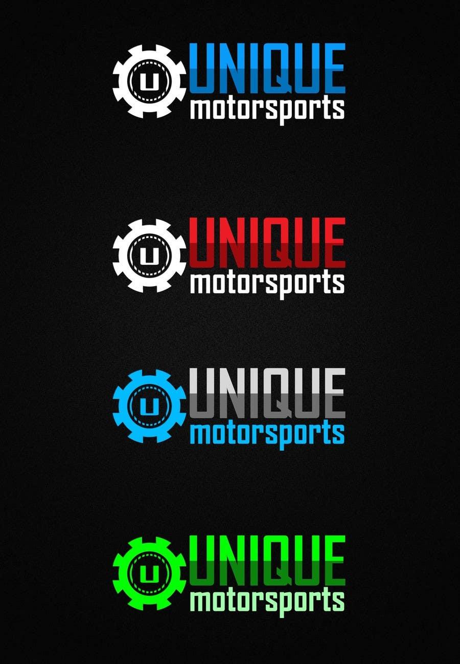 Penyertaan Peraduan #105 untuk Design a Logo for Unique Motorsports