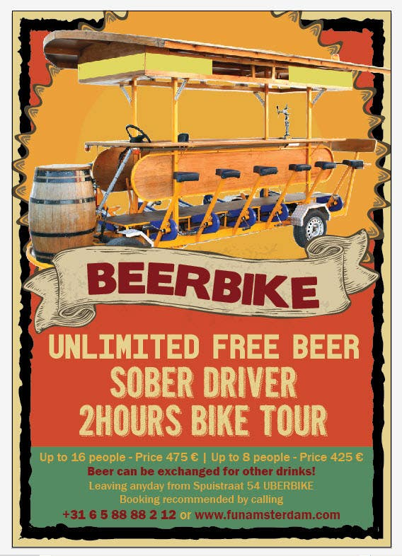 Proposition n°8 du concours Design a Flyer for Beerbike