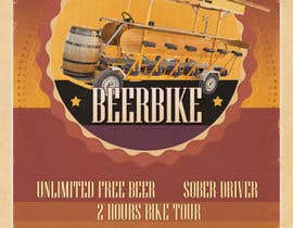 #10 for Design a Flyer for Beerbike af Christina850