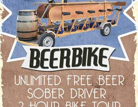 #4 for Design a Flyer for Beerbike af jeremybritz