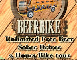 #13 for Design a Flyer for Beerbike af edver15