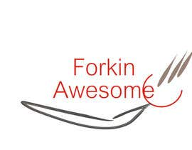 #41 for A Fork logo that loves amazing/awesome street food af bethmccue