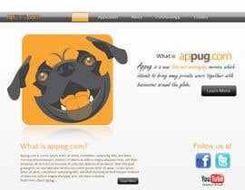 #13 for Website Design for Appug.com, a new online messaging service (generic web page). by abhishekbandhu
