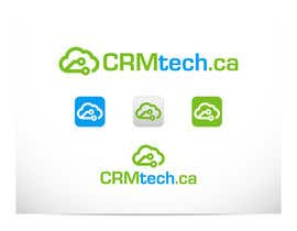 #475 para Design a Logo for CRM consulting business -- company name: CRMtech.ca por dzenomon
