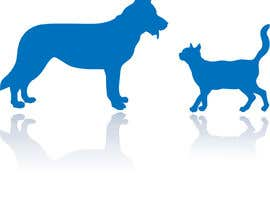 #16 for Illustration of a dog silhouette and a cat silhouette af snackeg