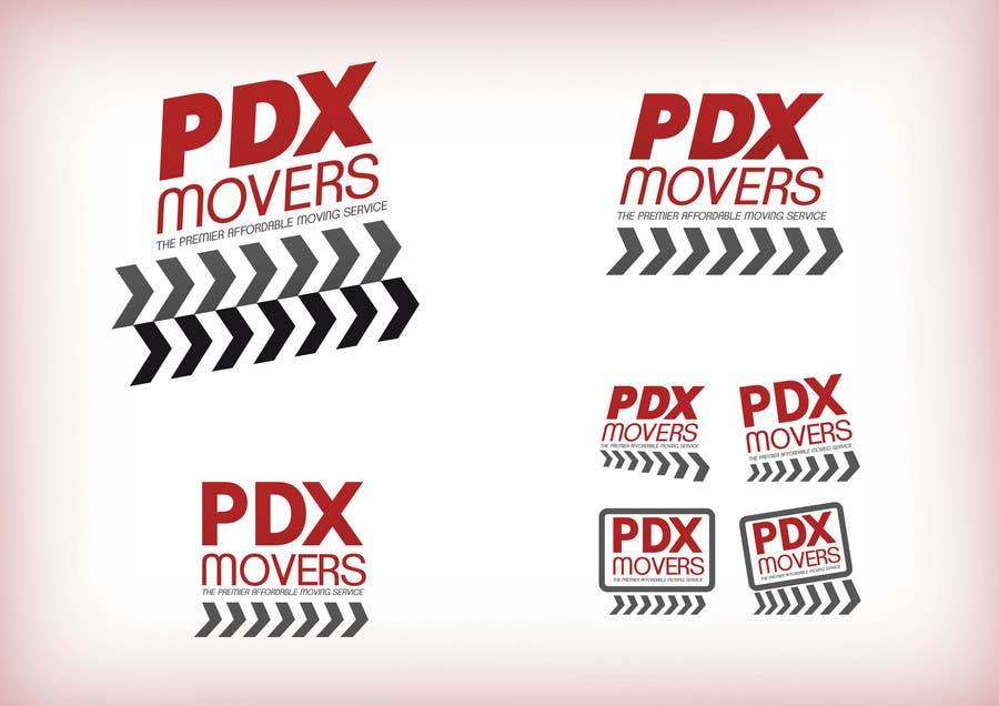 Bài tham dự cuộc thi #                                        73                                      cho                                         Design a Logo for pdxmovers.com