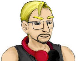 #15 for Design a cartoon, manga or hand drawn logo of me for my blog by ingreat