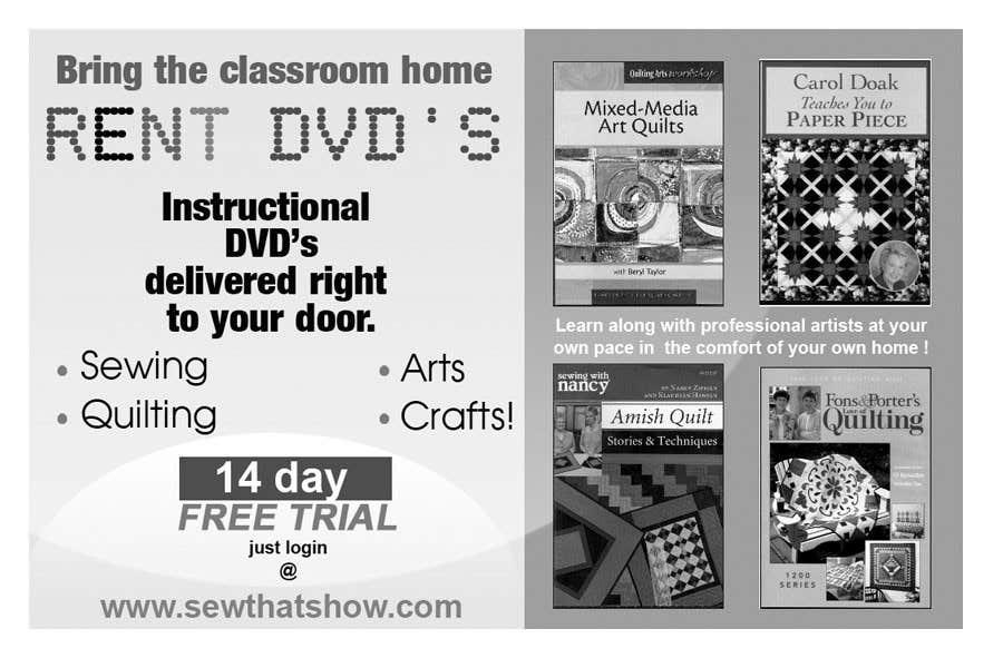 Inscrição nº 16 do Concurso para Graphic Design for SewThatsHow.com