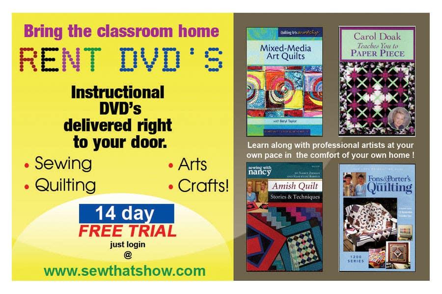 Inscrição nº 15 do Concurso para Graphic Design for SewThatsHow.com