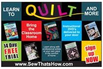 Graphic Design Inscrição do Concurso Nº112 para Graphic Design for SewThatsHow.com