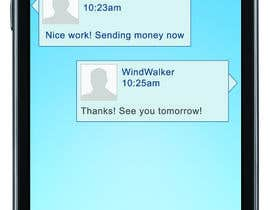 nº 14 pour Freelancer Messenger Android App Mockup par windwalker84