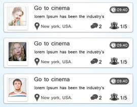 Nro 13 kilpailuun Freelancer Messenger Android App Mockup käyttäjältä dreamstudios0
