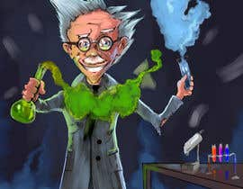 #10 untuk Mad Scientist Illustration oleh DragonFlamely