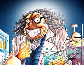 #14 cho Mad Scientist Illustration bởi adityanair90