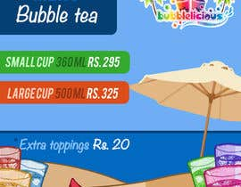 nº 13 pour I need some Graphic Designs for our Bubble Tea Company par FernandoJAM