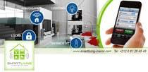 Graphic Design Kilpailutyö #13 kilpailuun Design a banner for facebook/Website for home automation company