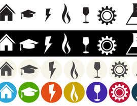 nº 3 pour Design some Icons for Website par marsalank