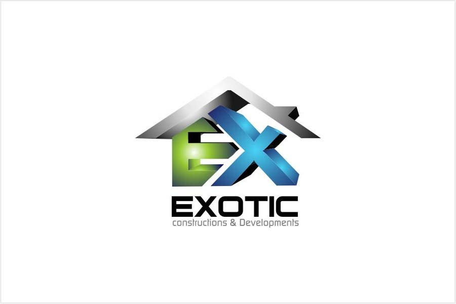 """#244 for Design a conceptual and intelligent Logo for the word """"EXOTIC"""" along with a punchline/ tagline (optional) by timedsgn"""