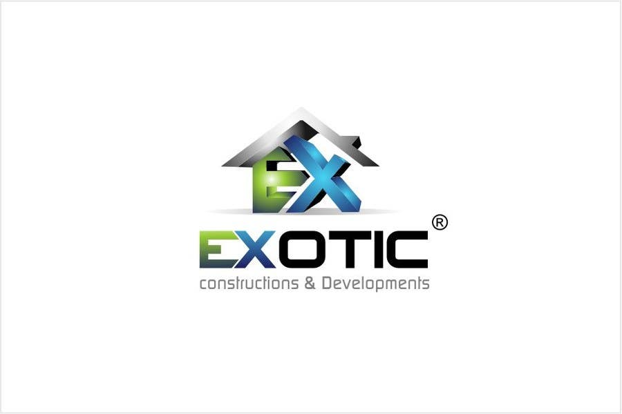 """#249 for Design a conceptual and intelligent Logo for the word """"EXOTIC"""" along with a punchline/ tagline (optional) by timedsgn"""
