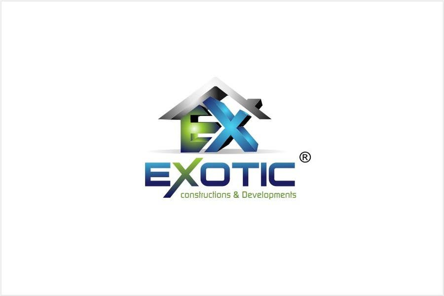 """#250 for Design a conceptual and intelligent Logo for the word """"EXOTIC"""" along with a punchline/ tagline (optional) by timedsgn"""