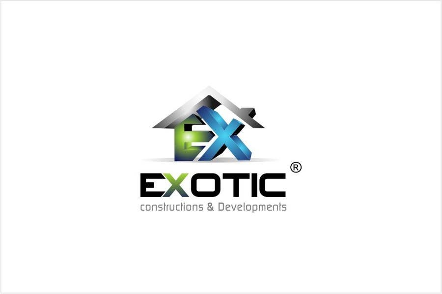 """#253 for Design a conceptual and intelligent Logo for the word """"EXOTIC"""" along with a punchline/ tagline (optional) by timedsgn"""