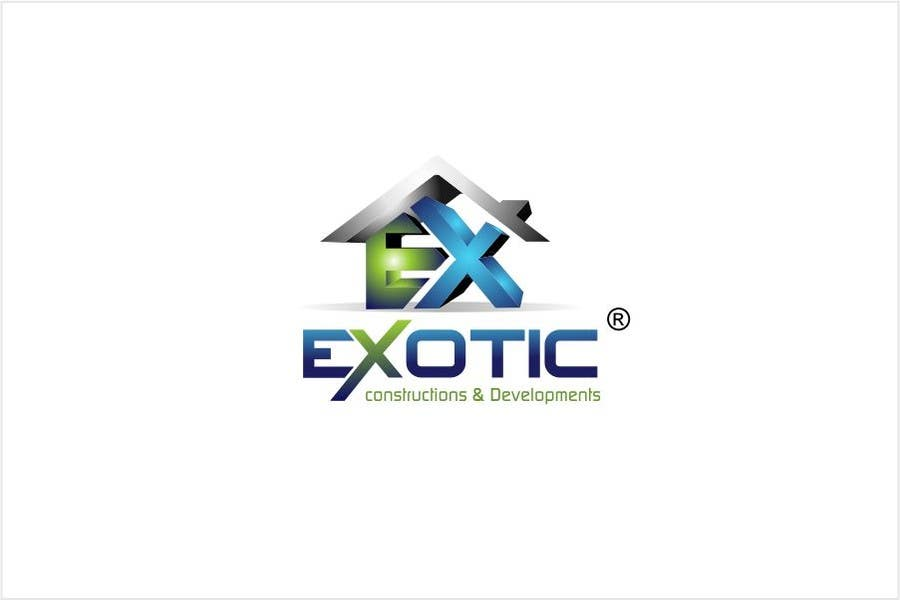 """#255 for Design a conceptual and intelligent Logo for the word """"EXOTIC"""" along with a punchline/ tagline (optional) by timedsgn"""