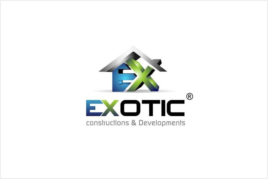 """#273 for Design a conceptual and intelligent Logo for the word """"EXOTIC"""" along with a punchline/ tagline (optional) by timedsgn"""