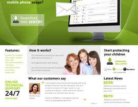 #91 para Design a Website Mockup for SMSSentry.com por shilpakhemka