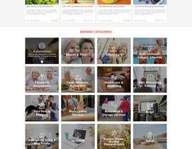 #10 for Website Mock Up - Wordpress by CharlesNgu