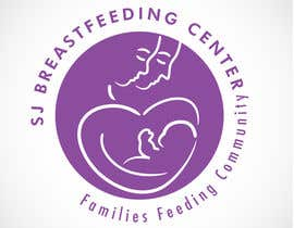 #9 untuk Design a Logo for Breastfeeding Support Center oleh jumpeestudio