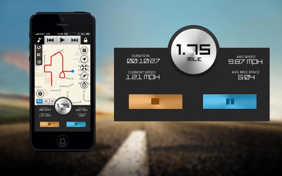 Bài tham dự cuộc thi #                                        27                                      cho                                         Need photshop expert to re-design part of user interface (Running App)