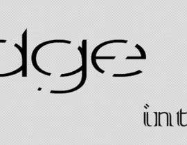 #105 cho Edge Interface needs a minimalistic logo bởi Alfatronics