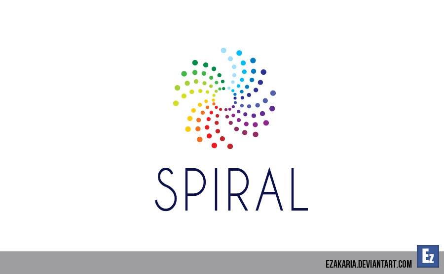 Penyertaan Peraduan #70 untuk Designa en logo for Spiral